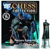 DC Chess Figurine Collection #40 Batman White Knight Justice League Eaglemoss